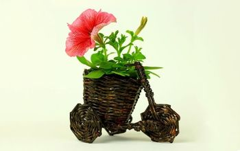 diy bicycle flower pot holder
