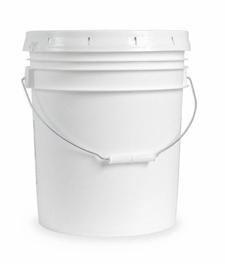 five gallon bucket patio table