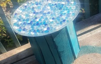 five gallon bucket patio table