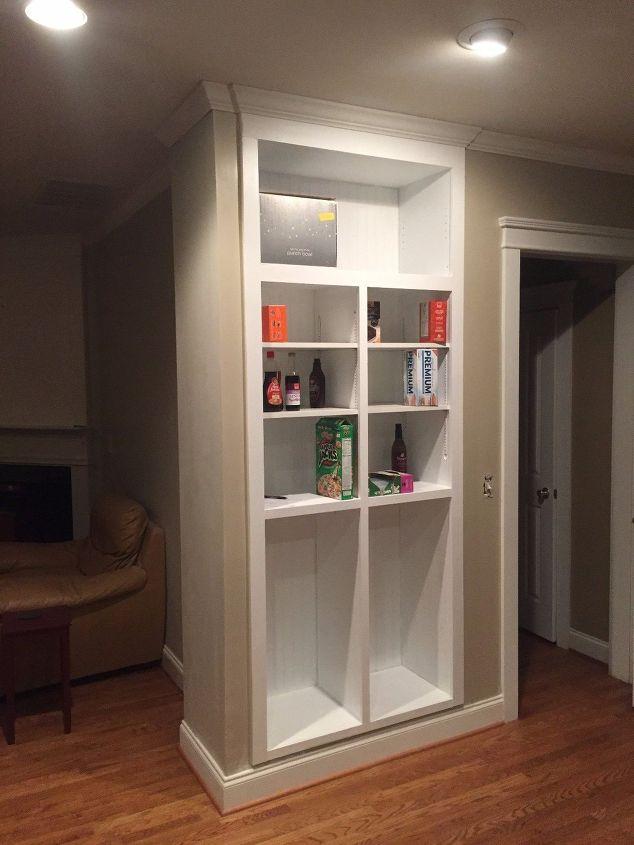 New Custom Pantry Replaces Our Tiny Shallow Closet Hometalk