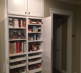 New Custom Pantry Replaces Our Tiny Shallow Closet