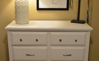 diy chalk painted dresser makeover