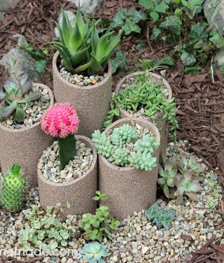 s 30 ways for you to style your garden, Transform A Garden Into A Succulent Paradise