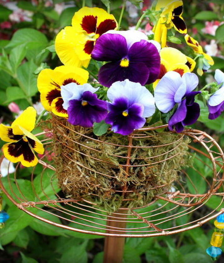 s 30 ways for you to style your garden, Thrift A Wire Teacup To Hang In A Trees