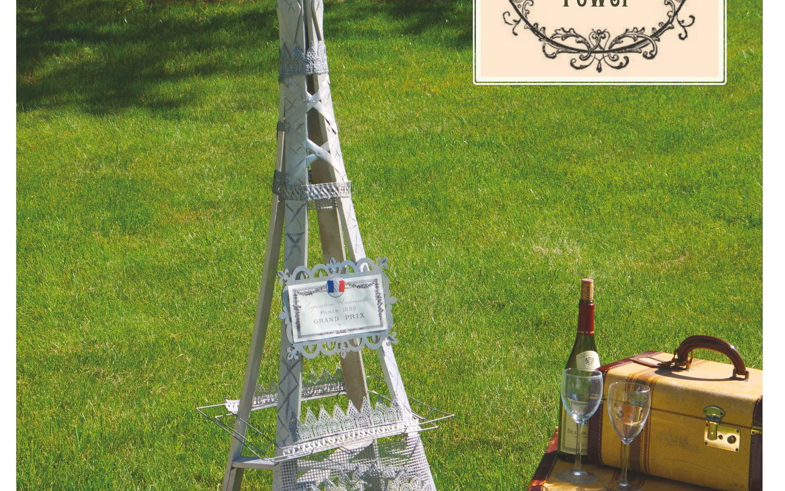 s 30 ways for you to style your garden, Create The Eiffel Tower In Your Garden
