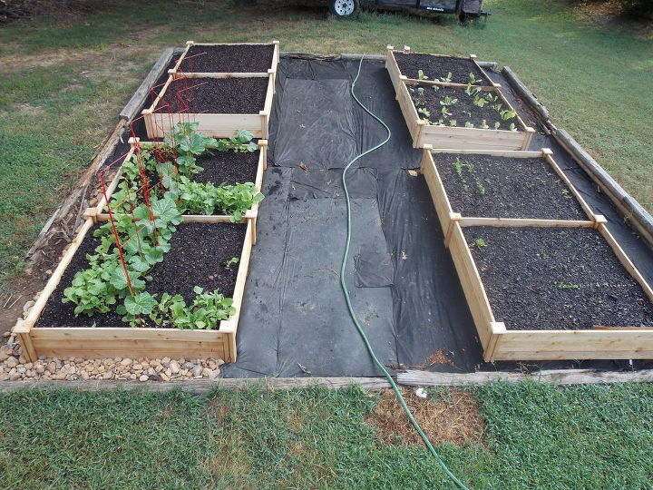 s 30 ways for you to style your garden, Organize With A Four Square Garden