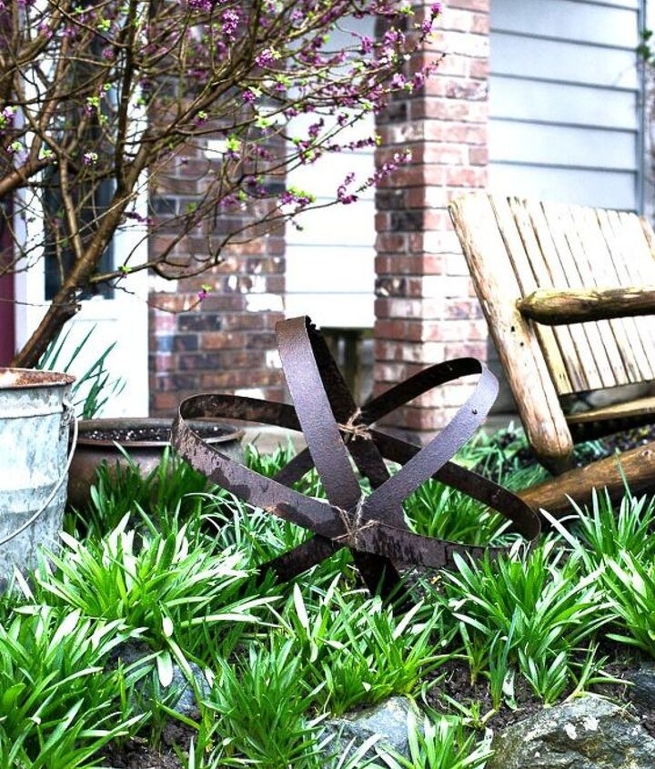 s 30 ways for you to style your garden, Decorate With Barrel Bars And Twine