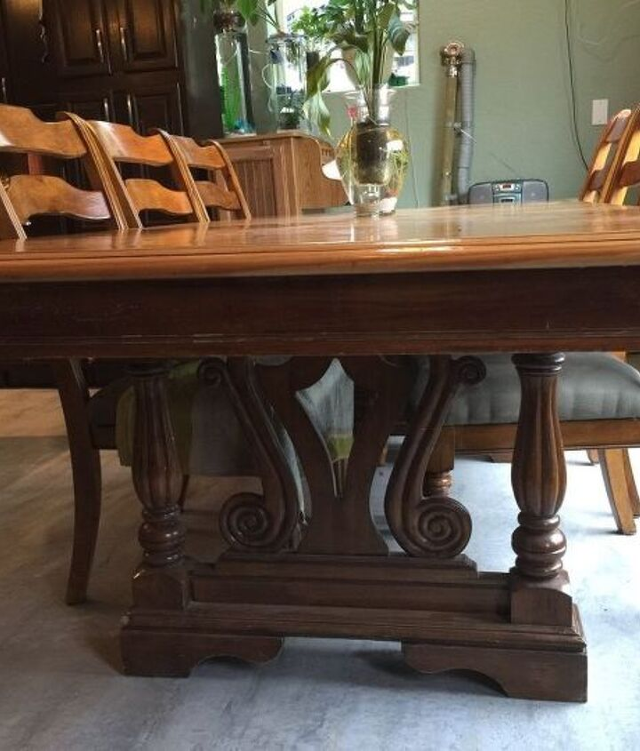 q i have an 8 ft double pedestal table