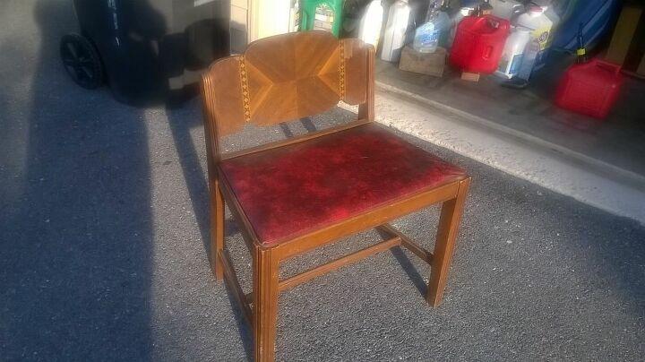 e feeling proud vanity chair re vamp