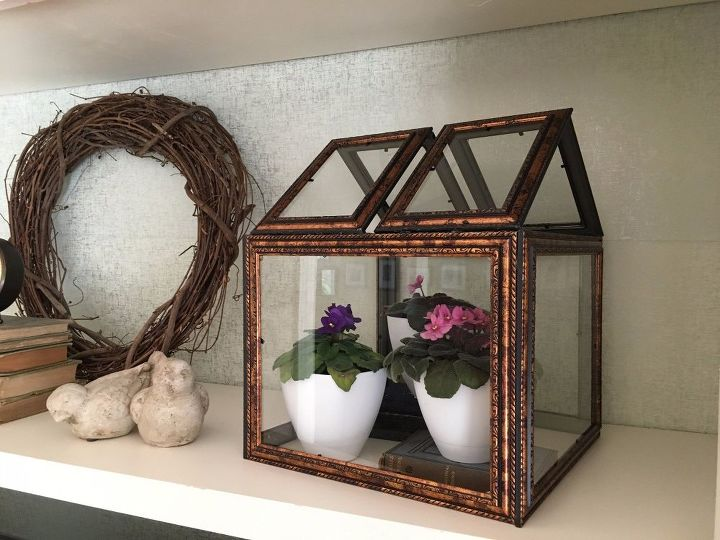s 10 decorative way to transform your frames, Plant A Terrarium Inside Your Frame