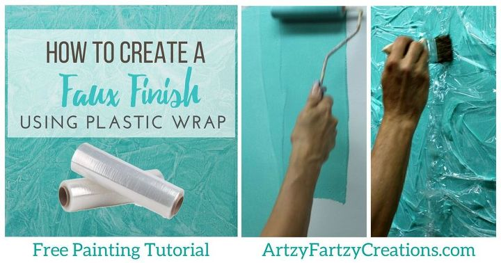 how to faux finish using common household items