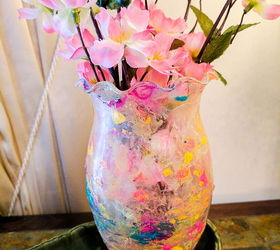 how to create stunning marble dipped vases