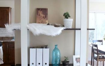 modern diy shelves for just 25