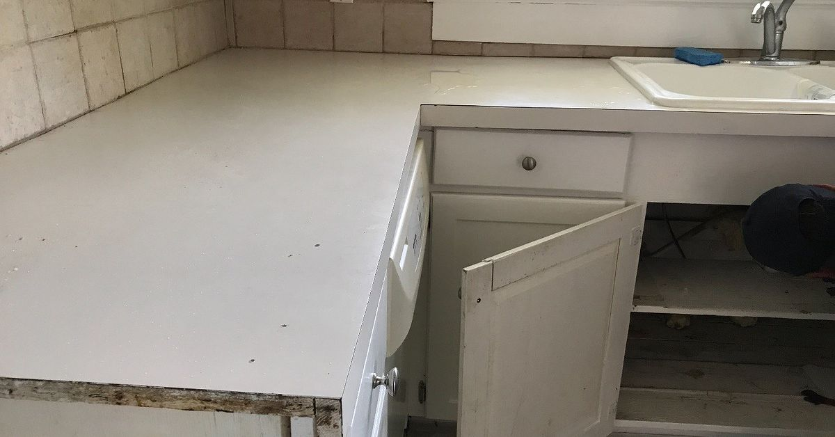 This Idea Will Make Your Cheap Formica Countertops Look