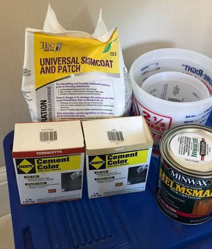 Supplies from Lowe's
