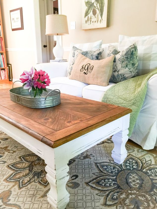 Diy Farmhouse Coffee Table Hometalk