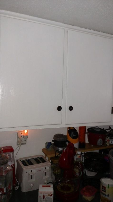 q how do i improve my old cupboards without buying new