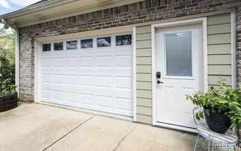 Garage Door Replacement- From Janky to SWANKY