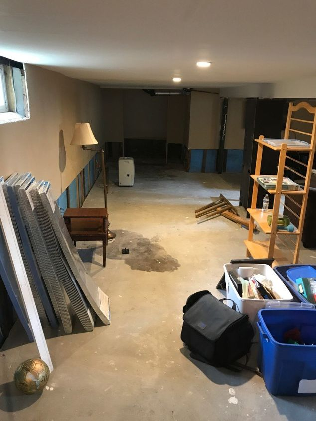 basement renovation project