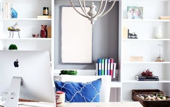 a cozy home office makeover