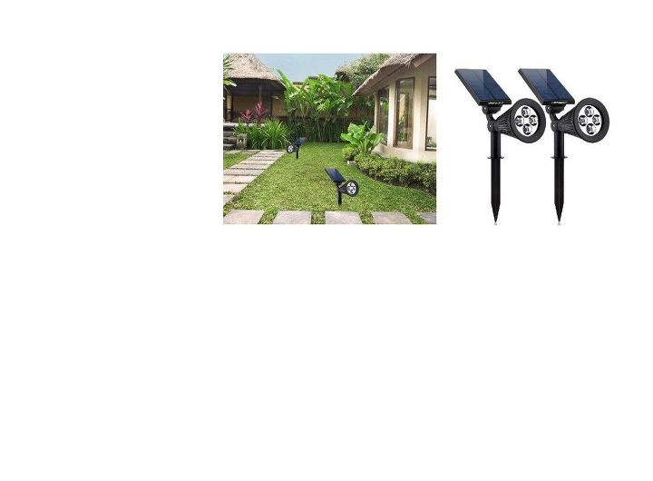 q how can i make my solar landscape lighting theft proof