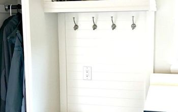 DIY Mudroom Laundry Room