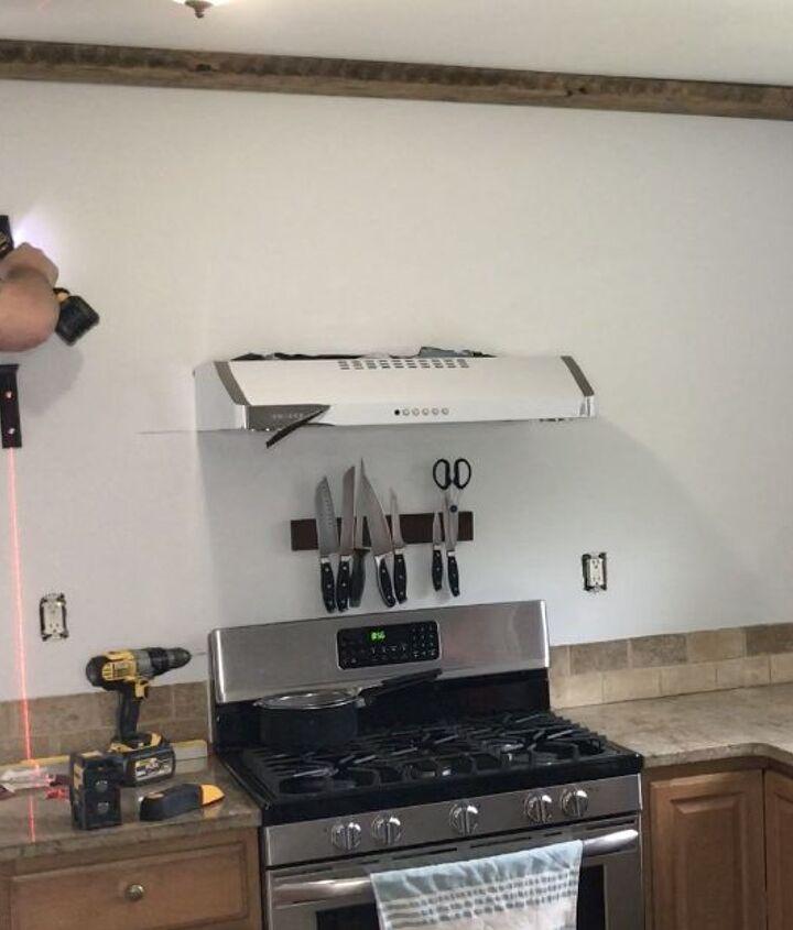 open shelving kitchen makeover