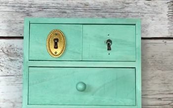 Missing Key Hole Cover? Faux Keyhole Cover Hack