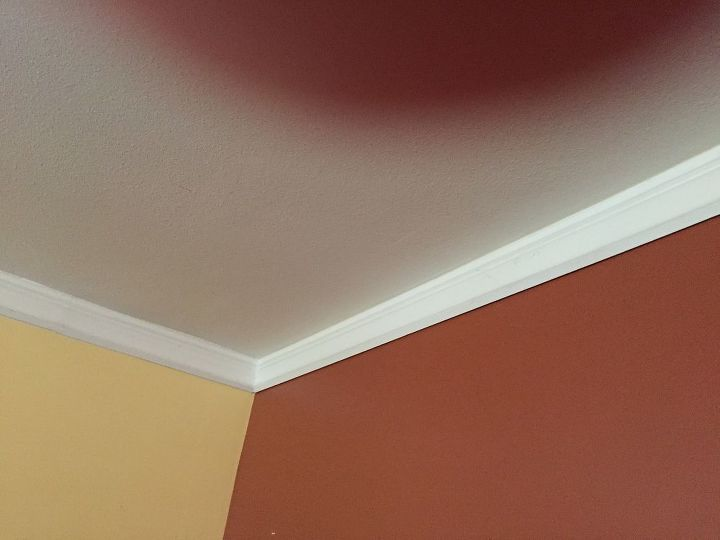 q how do you put crown molding up correctly