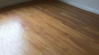 , New hand painted floor This one is a little lighter than my last so it looks like a country pine floor