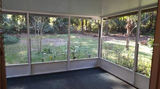 , Day we moved in small screened porch no place to lay out in the sun We have bears and other wildlife so I wanted a protected space outside of the screened in area