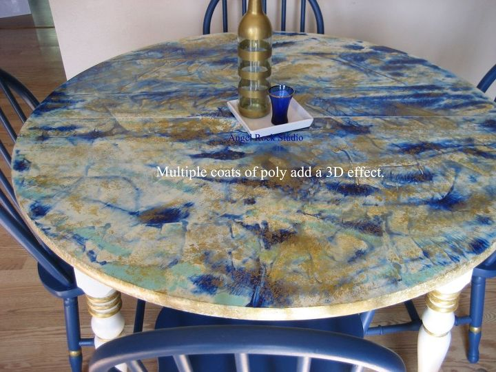 capture me dining table makeover