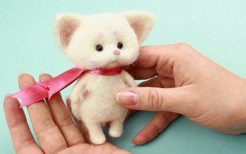 DIY Baby Shower Decor Idea — Fluffy Kitten