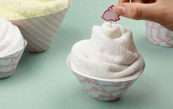 DIY Baby Shower Decor Idea — the Splendid Towel Cakes