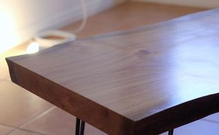 how to turn a tree into a table