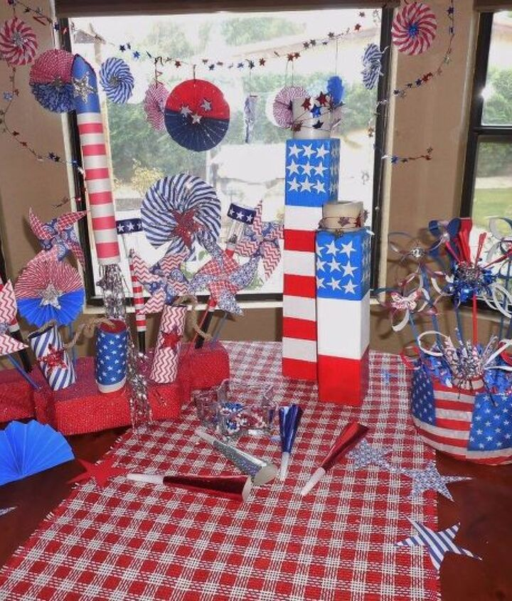 s 15 unusual flag ideas that actually look amazing, Cover Your Entire Table In The American Flag