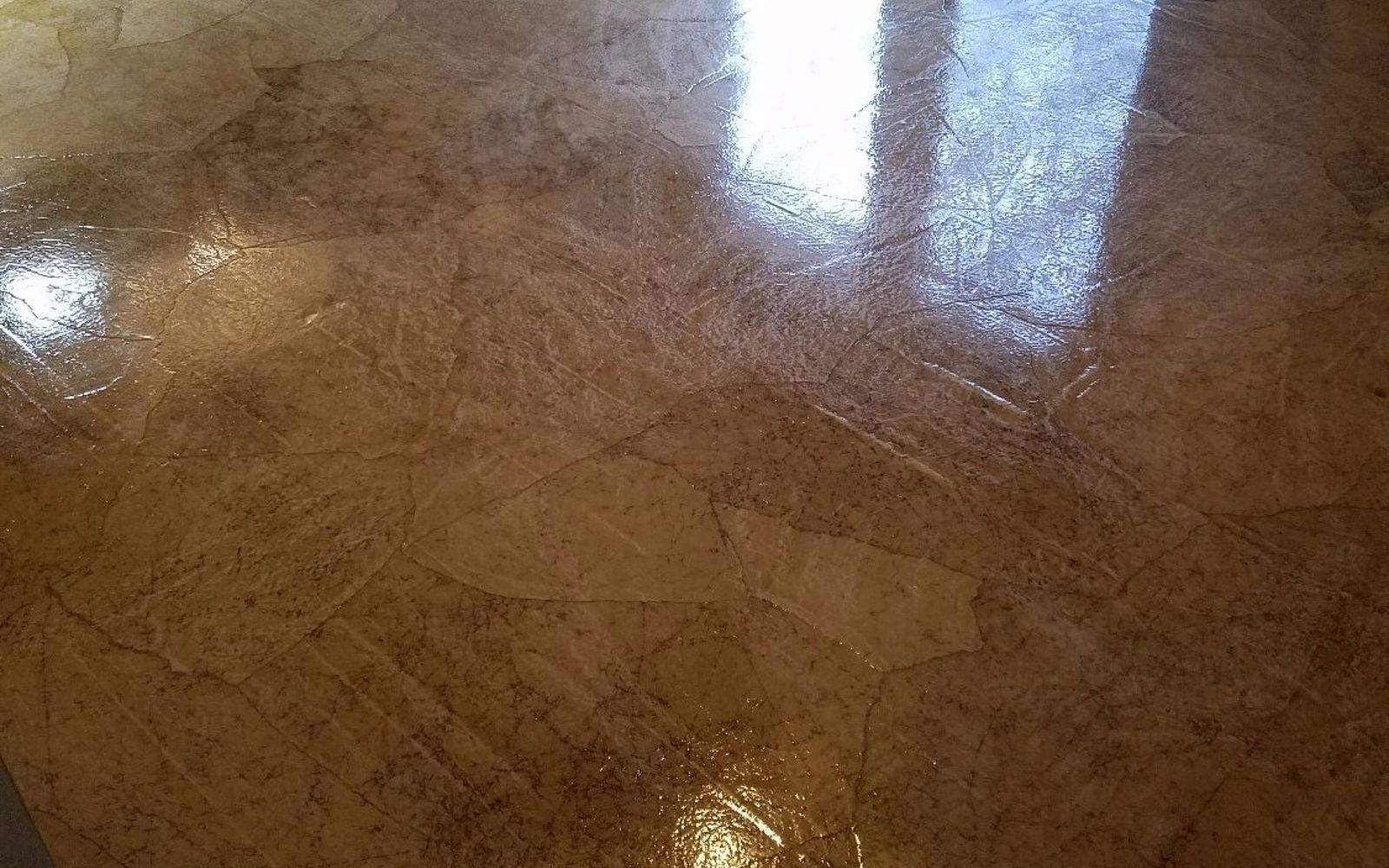 s 15 ways to make your home decor look like you spent hundreds, Get A Crackled Effect To Your Flooring