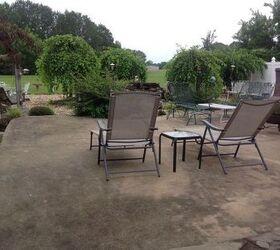 Delicieux Q How To Give Old Concrete Patio An Inexpensive Long Lasting Facelift