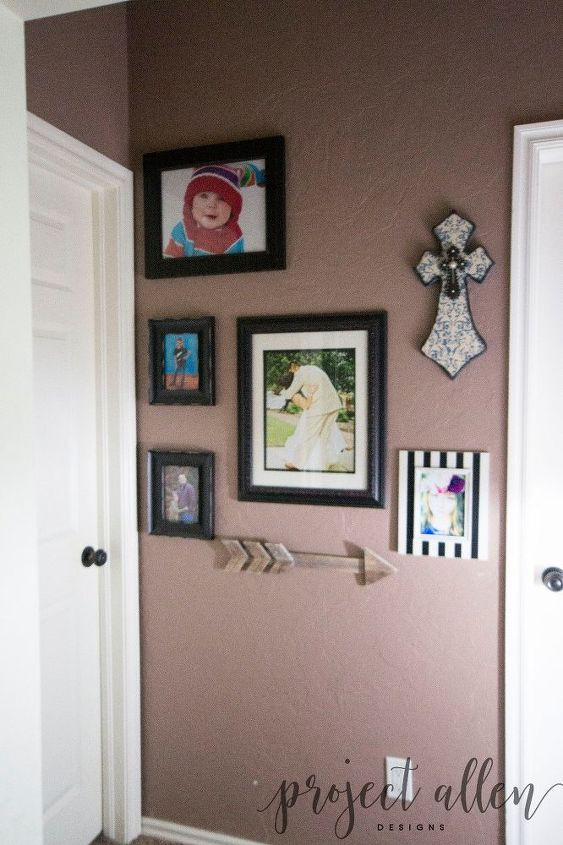 a quick and easy hallway makeover