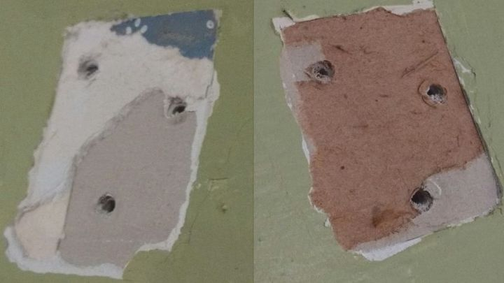 q do i use spackling or what to fix these places in my wall