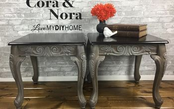 cora and nora twin end tables lose their label boring