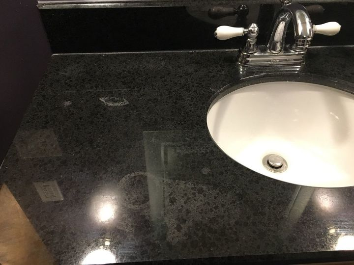 Stain On Granite Made From Clr