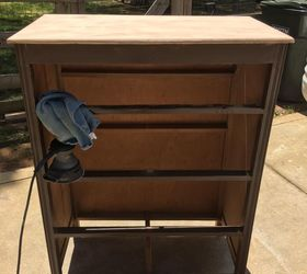 Chest Of Drawers To Multi Purpose Cabinet