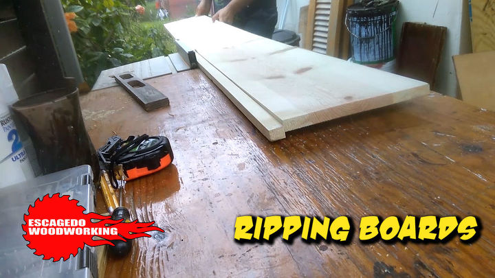 ripping boards down to size