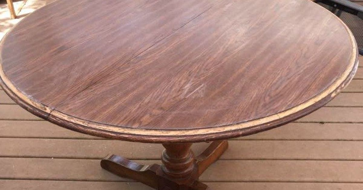 Painting Laminate Veneer French Country Table Hometalk