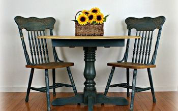 Painting Laminate Veneer: French Country Table
