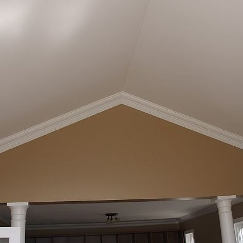Can You Put Crown Molding On A Vaulted Ceiling Hometalk