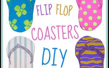 Flip Flop Coasters!  Home Decor!