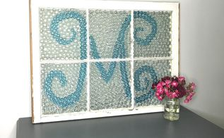 grout less mosaic inspired window
