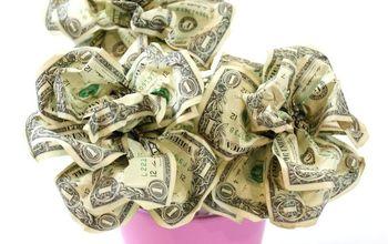 Dollar Bill Rose Bouquet